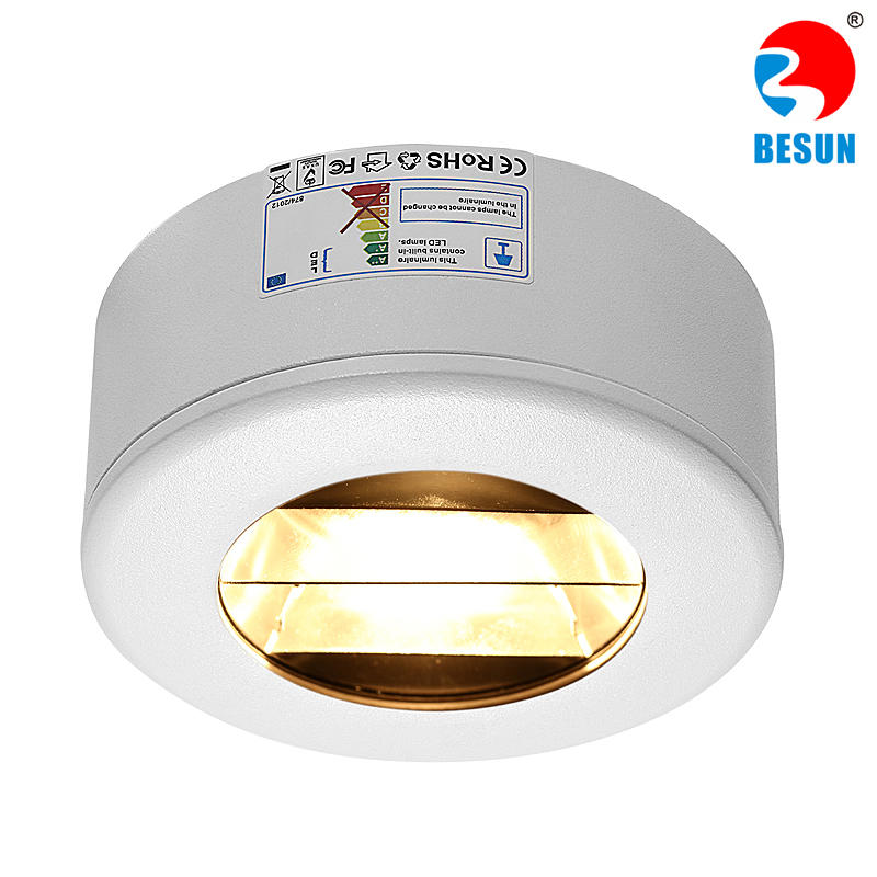 SHP partial recessed cob led downlight
