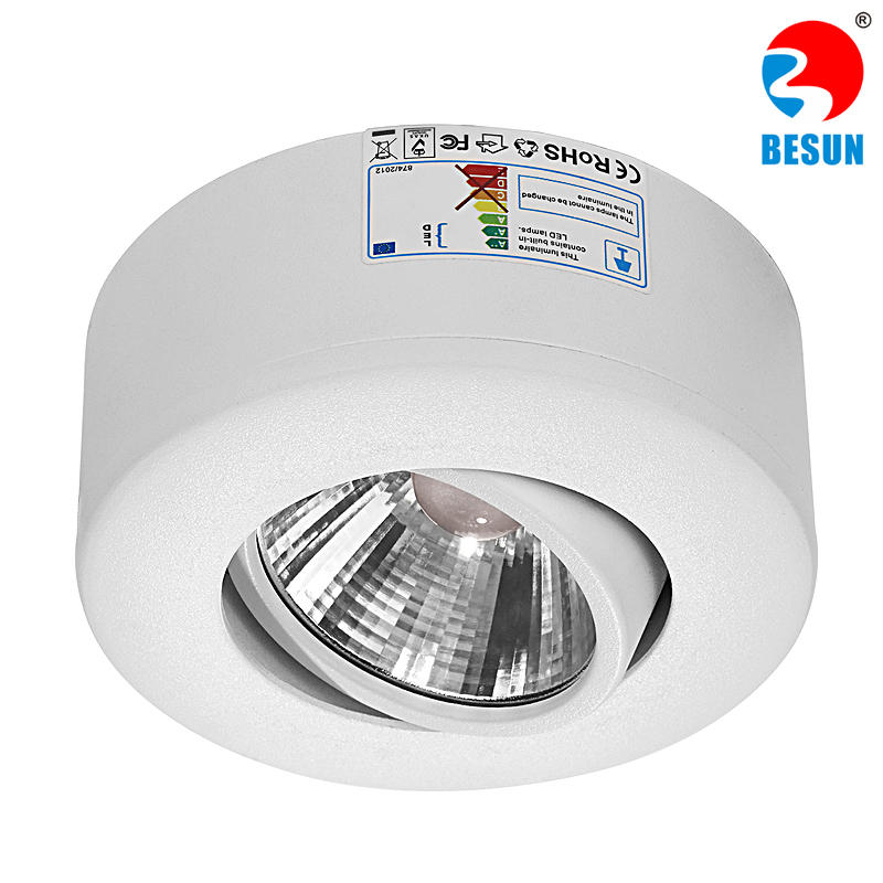 SBP partial recessed cob led downlight 7-30W