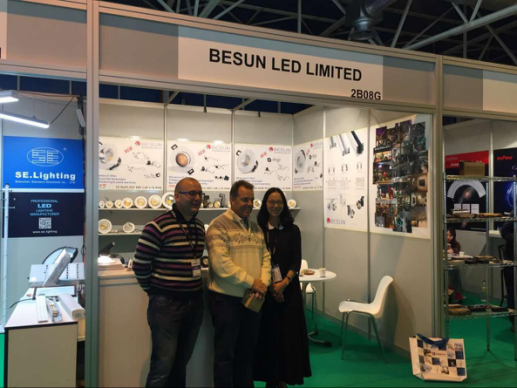 besun led lighting fair